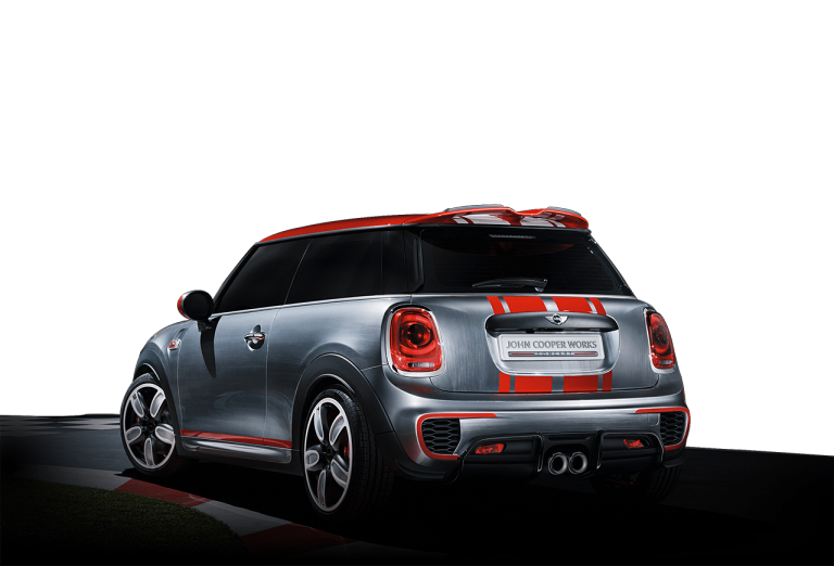MINI John Cooper Works Concept back-diagonal profile
